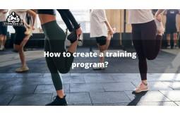 How to create a training program?