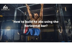 How to build he abs using the horizontal bar?